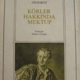Körler Hakkında Mektup / Diderot