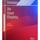 Arı Usun Eleştirisi (1781) / Immanuel Kant